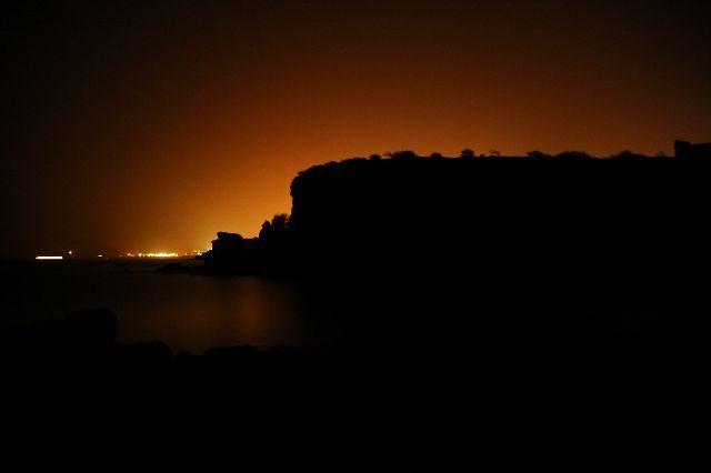 Zdjęcia: Santiago, poświata, Wyspy Zielonego Przylądka
