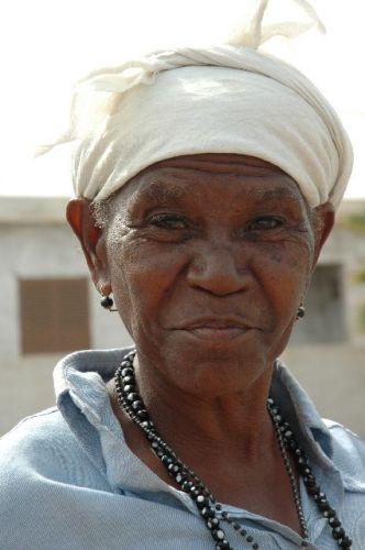 Zdjęcia: Santiago, twarz kobiety, Wyspy Zielonego Przylądka