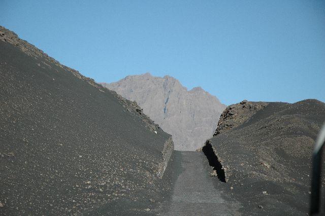 Zdjęcia: Fogo, autostrada na Fogo, Wyspy Zielonego Przylądka