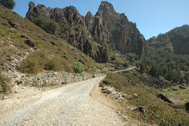 Zdjęcia: Agua das Caldeiras, stary  krater, Wyspy Zielonego Przylądka