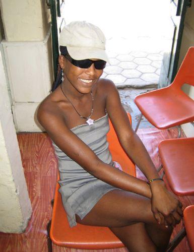 Zdjęcia: Mindelo, Sao Vincente, pani lekkich obyczajów, Wyspy Zielonego Przylądka