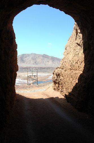 Zdjęcia: Sal-Pedra Lume, Widok na krater, Wyspy Zielonego Przylądka
