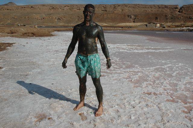 Zdjęcia: Sal-Pedra Lume, kąpiele blotne, Wyspy Zielonego Przylądka