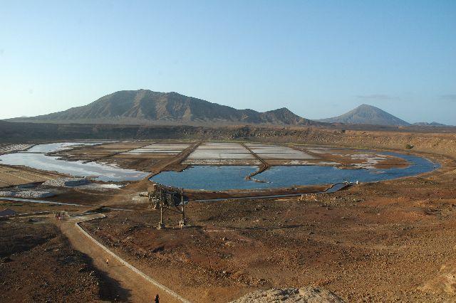 Zdjęcia: Sal-Pedra Lume, widok na saliny, Wyspy Zielonego Przylądka