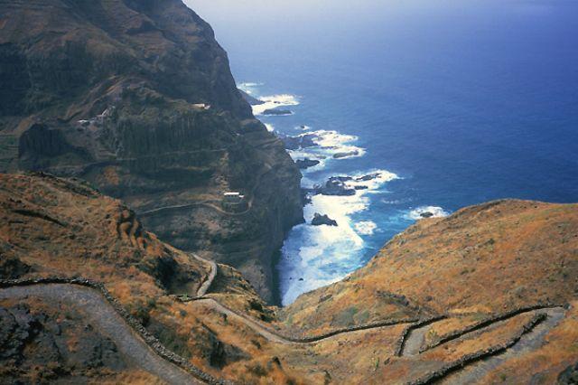 Zdjęcia: północna część wyspy, Santo Antao, kompozycja, Wyspy Zielonego Przylądka