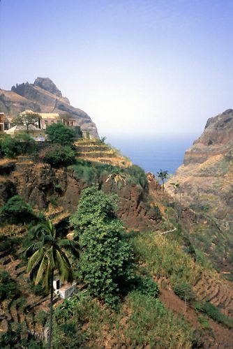 Zdjęcia: północna część wyspy, Santo Antao,  harmonia z przyrodą, Wyspy Zielonego Przylądka