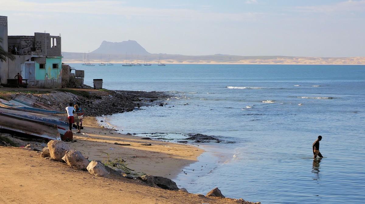 Zdjęcia: Wybrzeża wyspy, Boa Vista, Port Sal Rei, WYSPY ZIELONEGO PRZYLĄDKA