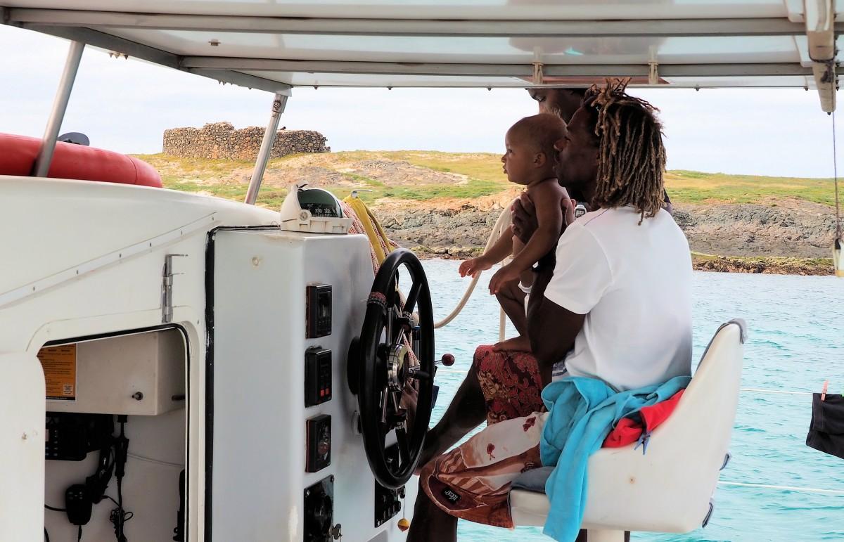 Zdjęcia: Wybrzeża wyspy, Boa Vista, Płyniemy..., WYSPY ZIELONEGO PRZYLĄDKA