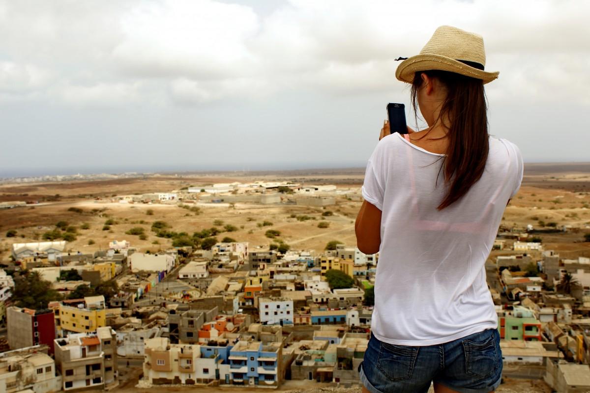 Zdjęcia: Najwyzsyz punkt widokowy, Sal, Miasto , WYSPY ZIELONEGO PRZYLĄDKA