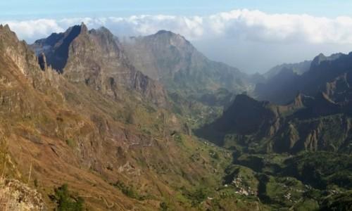 Zdjecie WYSPY ZIELONEGO PRZYLĄDKA / PAUL / Wyspa Santo Antao / Krater  Faja de Cima