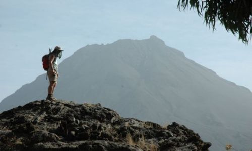 Zdjęcie Wyspy Zielonego Przylądka / Fogo / Portella / w drodze na Pico de Fogo
