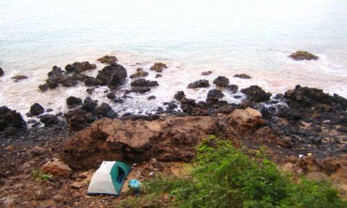 Wyspy Zielonego Przylądka / Santiago / Praia / nocleg na lawie