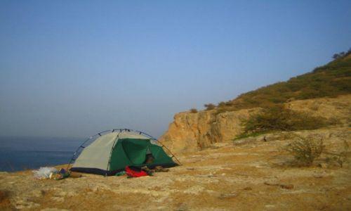 Zdjęcie Wyspy Zielonego Przylądka / Santiago / Tarrafal / spanko z widokiem na ocean