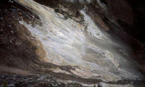 Wyspy Zielonego Przylądka / Fogo / Portella / geotermalne wyziewy