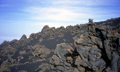 Zdjęcie Wyspy Zielonego Przylądka / Fogo / Portella / potrzaskany pejzaż