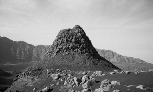 Zdjęcie Wyspy Zielonego Przylądka / Fogo / Portella / wulkaniczny komin retro