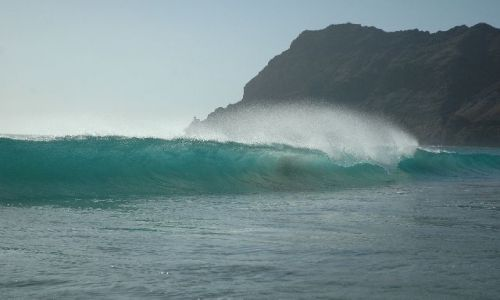 Zdjęcie Wyspy Zielonego Przylądka / brak / Sao Vincente / fala