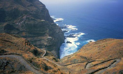 Wyspy Zielonego Przylądka / Santo Antao / północna część wyspy / kompozycja
