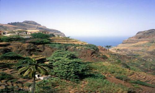 Wyspy Zielonego Przylądka / Santo Antao / północna część wyspy /  harmonia z przyrodą