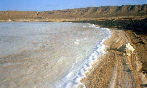 Zdjęcie Wyspy Zielonego Przylądka / Sal / krater w Pedra de Lume / Zastygłe fale