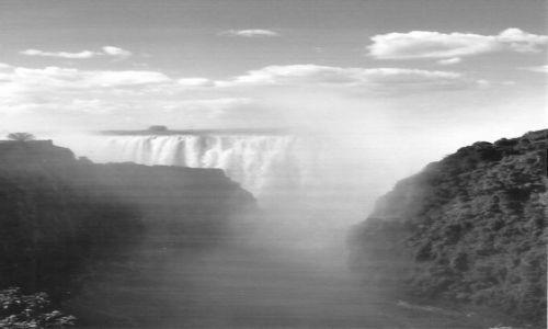 Zdjecie ZAMBIA / Płd.Zambia / Livingstone / Mosi-Oa-Tunya