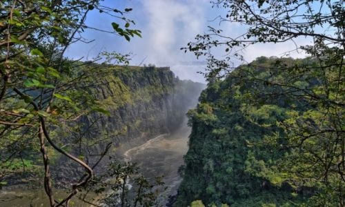 Zdjecie ZAMBIA / Livingstone / Victoria Falls / Victoria Falls