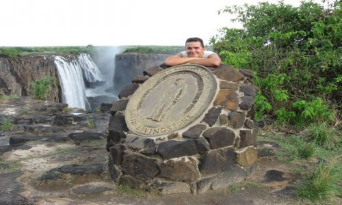 ZAMBIA / Livingstone / Victoria Falls / śladami Livingstona