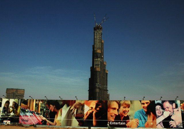 Zdjęcia: Dubai, Burj Dubai w budowie, ZJEDNOCZONE EMIRATY ARABSKIE
