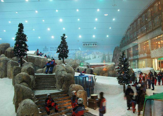 Zdj�cia: Ski Dubai, Emirat Dubaj, ..., ZJEDNOCZONE EMIRATY ARABSKIE