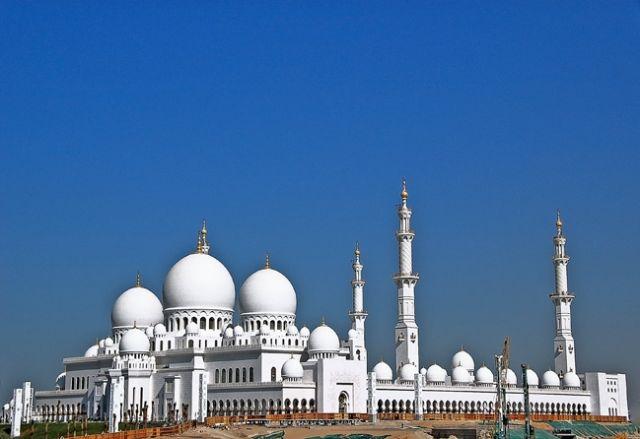 Zdjęcia: ABU DHABI, ABU DHABI, meczet szejka Zayeda , ZJEDNOCZONE EMIRATY ARABSKIE