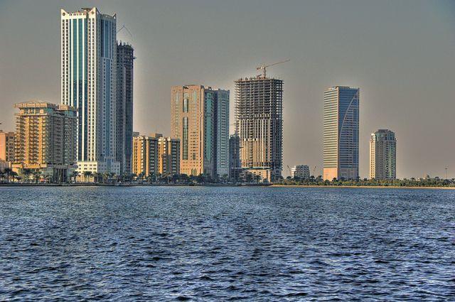 Zdjęcia: SHARJAH, Zatoka Perska, na drugim brzegu , ZJEDNOCZONE EMIRATY ARABSKIE