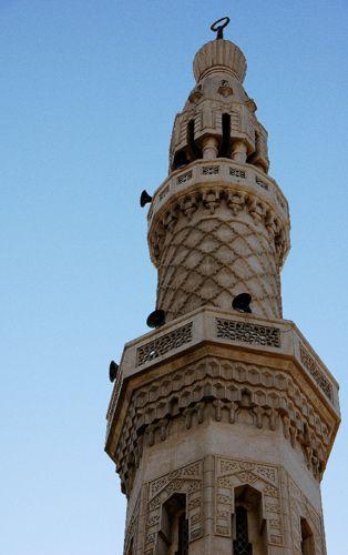 Zdjęcia: Minaret, wieża ustawiana przy meczetach , Zatoka Perska-Dubaj, Minaret,, ZJEDNOCZONE EMIRATY ARABSKIE