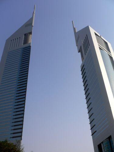 Zdjęcia: Dubai, Zatoka Perska, Emirates Towers, ZJEDNOCZONE EMIRATY ARABSKIE