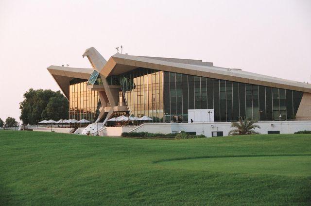 Zdj�cia: Abu Dhabi, Zatoka Perska, pole golfowe, ZJEDNOCZONE EMIRATY ARABSKIE