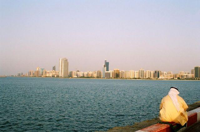 Zdj�cia: Abu Dhabi, Zatoka Perska, rozmy�lania, ZJEDNOCZONE EMIRATY ARABSKIE