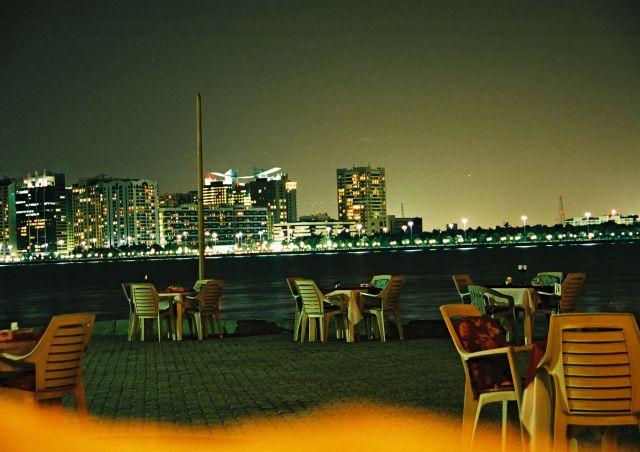 Zdjęcia: Abu Dhabi, Zatoka Perska, noc, ZJEDNOCZONE EMIRATY ARABSKIE