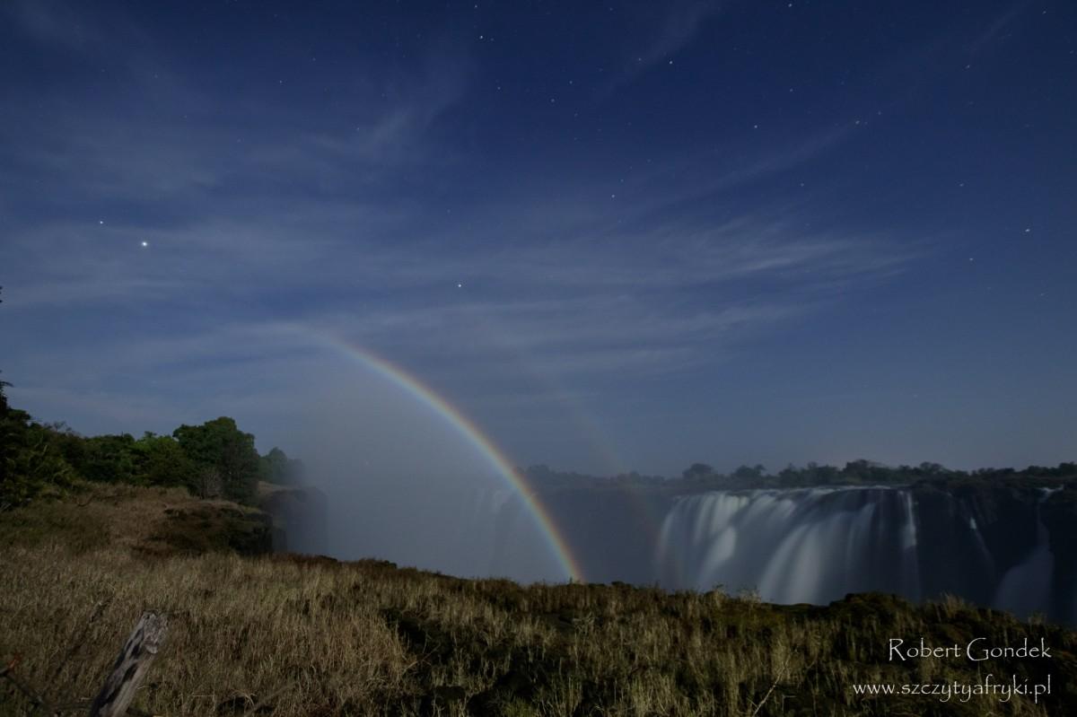 Zdjęcia: Mana Pools, Mana Pools, Noc nad wodospadami Wiktorii, ZIMBABWE