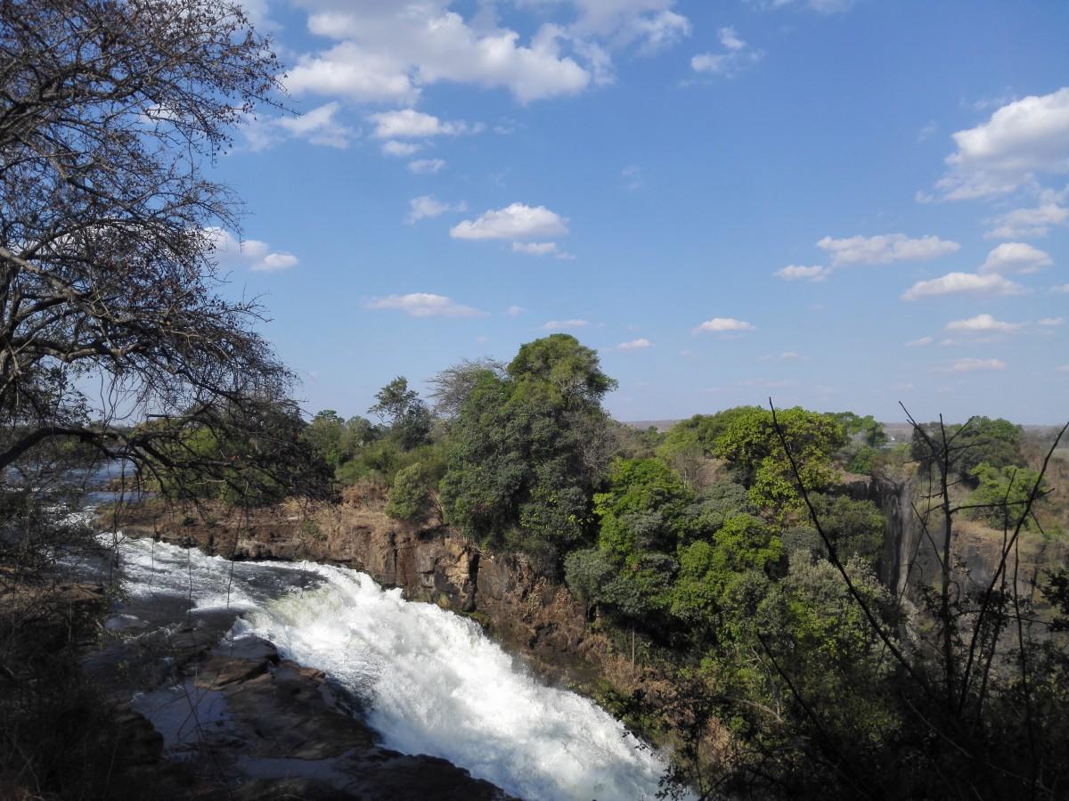 Zdjęcia: Wodospady Wiktorii, Pół.  zachodnie Zimbabwe, Wodospady Wiktorii jeszcze inaczej, ZIMBABWE