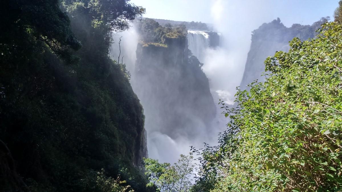Zdjęcia: rzeka Zambezi, Victoria Falls, ZIMBABWE