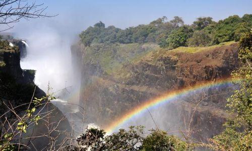 ZIMBABWE / - / Victoria Falls / Dym, który grzmi