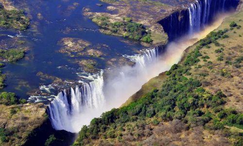 Zdjecie ZIMBABWE / - / Victoria Falls / Wodospady Wiktorii