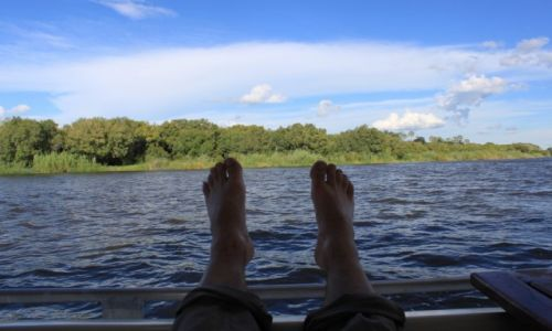 Zdjęcie ZIMBABWE /  - / -  / jak to nad Zambezi