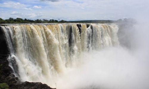 ZIMBABWE /  - / -  / Wodospady Victorii