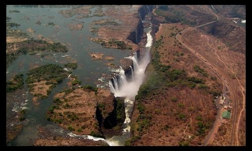 Zdjecie ZIMBABWE / brak / Victoria Falls / Lot nad Victori