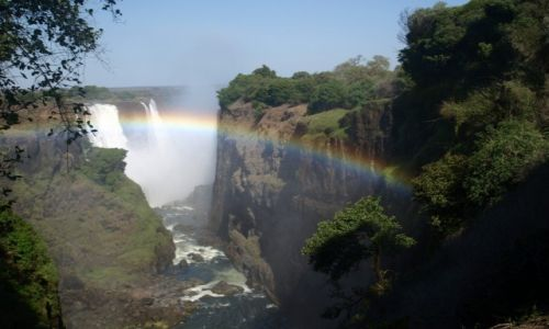 ZIMBABWE / - / Victoria Falls / Wodospady Viktorii