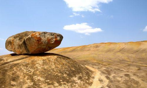 Zdjęcie ZIMBABWE / - / Domboshava, k. Harare / Granitowe krajobrazy