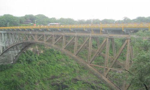 Zdjęcie ZIMBABWE / Zimbabwe / Zimbabwe / Most graniczny między7 Zambią a Zimbabwe