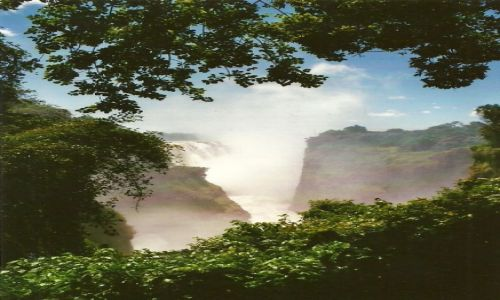 Zdjecie ZIMBABWE / Zach. Zimbabwe / Victoria Falls / Wodospad