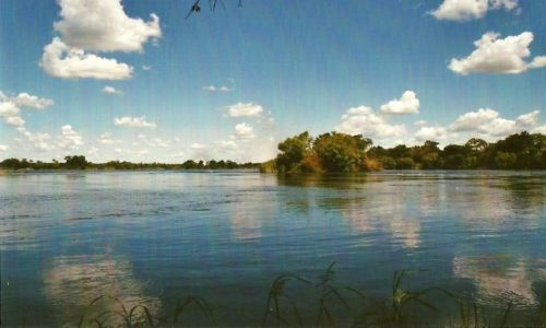 Zdjęcie ZIMBABWE / Zach. Zimbabwe / Victoria Falls / Rzeka Zambezi