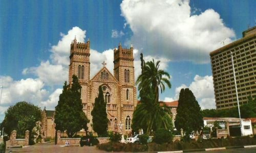 Zdjęcie ZIMBABWE / Stolica / Harare / Katedra anglikańska